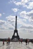 Παρίσι, ο πύργος του Άιφελ στοκ εικόνες με δικαίωμα ελεύθερης χρήσης