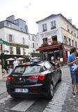 Παρίσι, 19.2013-πεζούλι LE Consulat Αυγούστου σε Montmartre στο Παρίσι Στοκ φωτογραφία με δικαίωμα ελεύθερης χρήσης