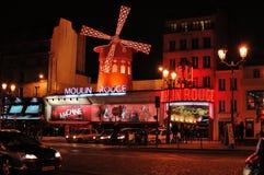Παρίσι, ρουζ Moulin στοκ φωτογραφίες