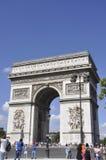 Παρίσι, στις 20 Αυγούστου - Arc de Triomphe στο Παρίσι Στοκ Φωτογραφία