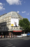 Παρίσι, στις 15 Ιουλίου: Είσοδος του Λαφαγέτ Galeries από το Παρίσι στη Γαλλία Στοκ εικόνα με δικαίωμα ελεύθερης χρήσης