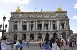 Παρίσι, στις 15 Ιουλίου: Κτήριο Garnier οπερών από το Παρίσι στη Γαλλία Στοκ εικόνες με δικαίωμα ελεύθερης χρήσης