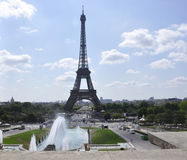 Παρίσι, στις 15 Ιουλίου: Τοπίο πύργων του Άιφελ από το Παρίσι στη Γαλλία Στοκ φωτογραφίες με δικαίωμα ελεύθερης χρήσης