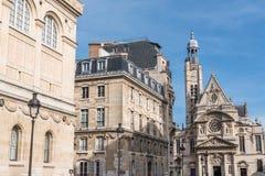 Παρίσι, τα λατινικά Quartier στοκ εικόνες