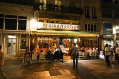 Παρίσι τη νύχτα Στοκ εικόνα με δικαίωμα ελεύθερης χρήσης