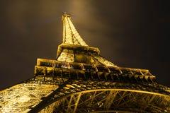 Παρίσι τη νύχτα Στοκ Εικόνες