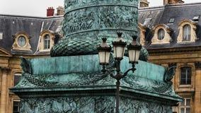 Παρίσι τοποθετήστε vendome Στοκ εικόνες με δικαίωμα ελεύθερης χρήσης