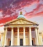 Παρίσι το μαυσωλείο Pantheon. Γαλλία. Στοκ εικόνα με δικαίωμα ελεύθερης χρήσης