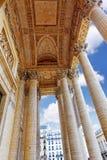 Παρίσι το μαυσωλείο Pantheon. Στοκ Εικόνες