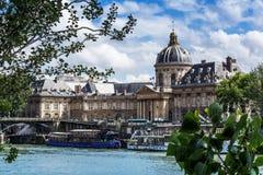 Παρίσι, το Institut de Γαλλία, ακαδημία των επιστημών Στοκ Εικόνες