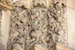 Παρίσι - το sainte-Chapelle Στοκ φωτογραφία με δικαίωμα ελεύθερης χρήσης