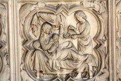 Παρίσι - το sainte-Chapelle Στοκ εικόνα με δικαίωμα ελεύθερης χρήσης