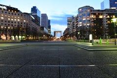 Παρίσι, υπεράσπιση Λα Στοκ Εικόνες