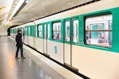 Παρίσι υπόγεια Στοκ εικόνα με δικαίωμα ελεύθερης χρήσης