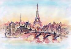 Παρίσι απεικόνιση αποθεμάτων