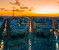 Παρίσι. Στοκ Εικόνες