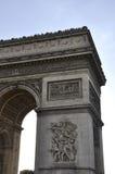 Παρίσι, Arc de Triomphe Στοκ εικόνες με δικαίωμα ελεύθερης χρήσης