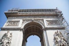 Παρίσι, Arc de Triomphe Στοκ εικόνα με δικαίωμα ελεύθερης χρήσης