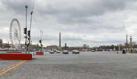 Παρίσι concorde de Λα place Στοκ Φωτογραφία