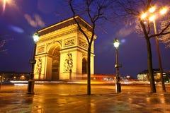 Παρίσι etoile Στοκ φωτογραφία με δικαίωμα ελεύθερης χρήσης