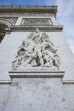 Παρίσι, Famous Arc de Triumph Στοκ εικόνες με δικαίωμα ελεύθερης χρήσης