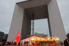 Παρίσι, Grande Arche Στοκ φωτογραφία με δικαίωμα ελεύθερης χρήσης