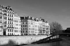 Παρίσι Ile Saint-Louis Στοκ φωτογραφίες με δικαίωμα ελεύθερης χρήσης