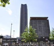 Παρίσι, 17.2013-Montparnasse πύργος Αυγούστου στοκ εικόνες