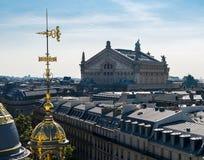 Παρίσι - Palais Garnier στοκ εικόνες με δικαίωμα ελεύθερης χρήσης