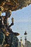 Παρίσι, Place de Concorde στοκ εικόνα