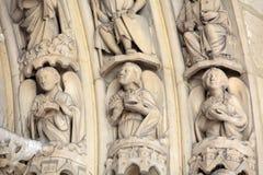 Παρίσι - Sainte Chapelle Στοκ Εικόνα