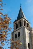 Παρίσι, ST Ζερμαίν des Prés Church Στοκ Φωτογραφία