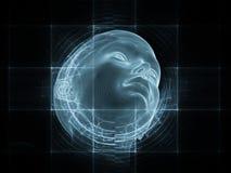 Παραίσθηση του μυαλού Στοκ εικόνα με δικαίωμα ελεύθερης χρήσης