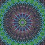 Παραγμένο υπολογιστής fractal υπόβαθρο διακοσμήσεων Στοκ Φωτογραφία