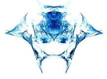 παραγμένο fractal επικεφαλής τέρας διανυσματική απεικόνιση