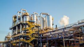 Παραγωγή γραμμών βιομηχανίας εργοστασίων ζάχαρης στοκ εικόνα