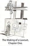 παραγωγή δίκης Στοκ Εικόνες