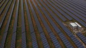 Παραγωγή 2 ηλιακής ενέργειας απόθεμα βίντεο