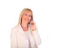 παραγωγή κλήσης επιχειρηματιών Στοκ φωτογραφίες με δικαίωμα ελεύθερης χρήσης
