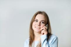 παραγωγή κοριτσιών κλήση&sigm Στοκ Φωτογραφίες