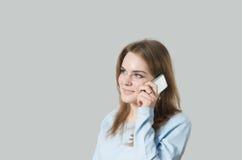 παραγωγή κοριτσιών κλήση&sigm Στοκ φωτογραφία με δικαίωμα ελεύθερης χρήσης