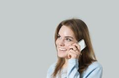 παραγωγή κοριτσιών κλήση&sigm Στοκ Φωτογραφία