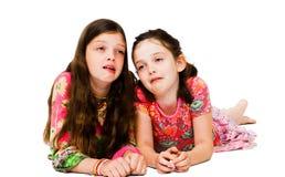 παραγωγή κοριτσιών προσώπων Στοκ εικόνες με δικαίωμα ελεύθερης χρήσης