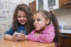 παραγωγή κοριτσιών προσώπ&om στοκ φωτογραφίες