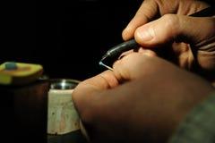 Παραγωγή κοσμημάτων τεχνών Στοκ εικόνα με δικαίωμα ελεύθερης χρήσης