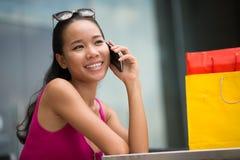 Παραγωγή μιας κλήσης Στοκ φωτογραφίες με δικαίωμα ελεύθερης χρήσης