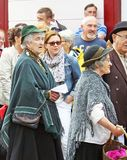 Παραγωγή παιχνιδιού στην οδό στο κοβάλτιο Anteim φεστιβάλ Glenarm στοκ εικόνες