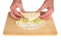 Παραγωγή περικαλυμμάτων ψωμιού Στοκ εικόνες με δικαίωμα ελεύθερης χρήσης