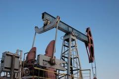 Παραγωγή πετρελαίου το χειμώνα. Στοκ φωτογραφίες με δικαίωμα ελεύθερης χρήσης