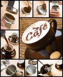 παραγωγή σύνθεσης καφέ Στοκ φωτογραφίες με δικαίωμα ελεύθερης χρήσης